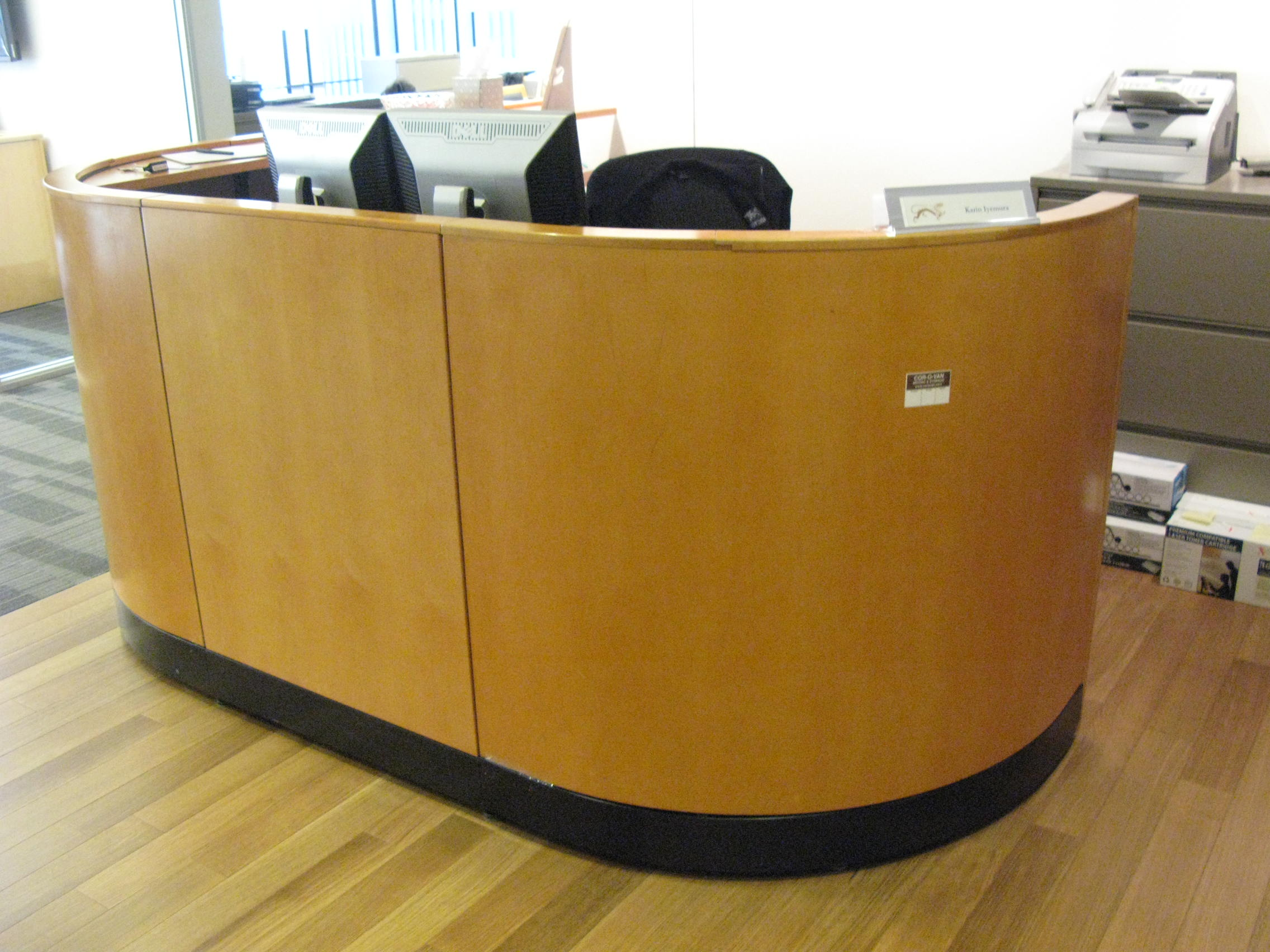 Reception Desks For Sale Used Reception Desks